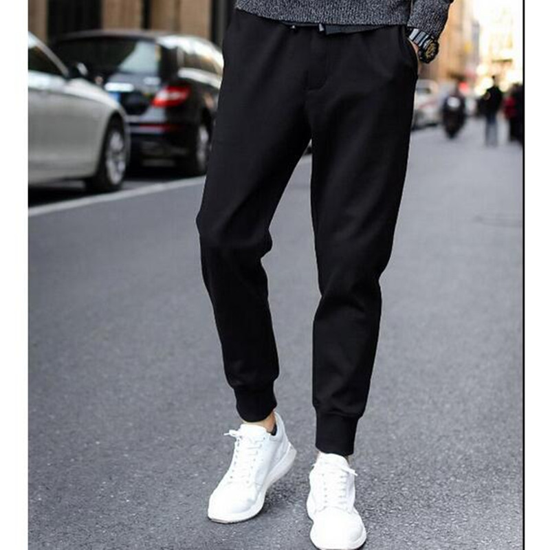 2016 Top Fashion Jogging Harem Pants Men Casual Slim Fit Ankle Banded Trousers Men Good Quality(China (Mainland))