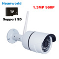 960P 1 3MP outdoor Wireless Mini Wifi IP camera support micro SD card CCTV Webcam Network
