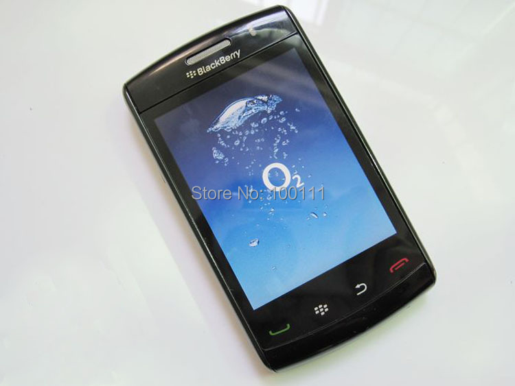 """Original BlackBerry Storm2 9550 Mobile phone with Wi-Fi GPS 3.2MP 3.2""""TouchScreen Free Shipping(Hong Kong)"""