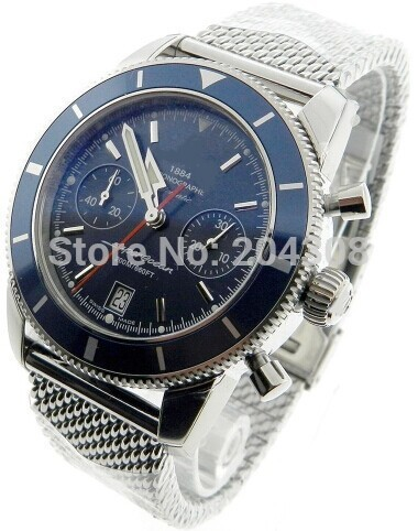 factory store Brand New A2337016/C856 Stainless Steel Bracelet Mens Automatic Mechanical Blue Dial Watch Men's Sports Wrist Watc(China (Mainland))