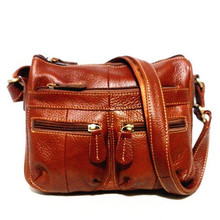 Guarantee 100% Genuine Leather Women's Messenger Vintage Shoulder Bag Female Cross-body Soft Casual Shopping Bags free shipping(China (Mainland))