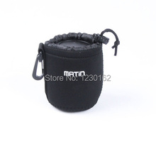 S Matin Black Neoprene Soft Lens Bag Pouch Case Protector For EF 50mm f/1.8 II, Canon EF-S 18-55mm f/3.5-5.6 IS etc…free ship
