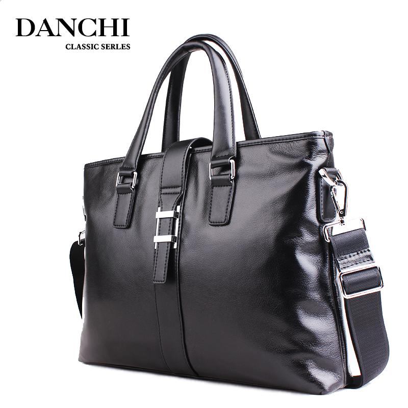 2013 man Messenger bags + Genuine leather/cowhide handbags N133-1401,Designer handbags +Famous brand Danchi + Free shipping<br><br>Aliexpress