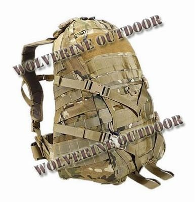 TAD EDC Style Backpack Tactical Molle Assault Multicam Camo 83024-1 (Outdoor Bag Military Backpack)  -  Wolverine Outdoor's store store