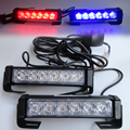 High Power 36W 12v Strobe Warning Light Bar Trailer Marker Daytime Running Lights Amber Red Blue