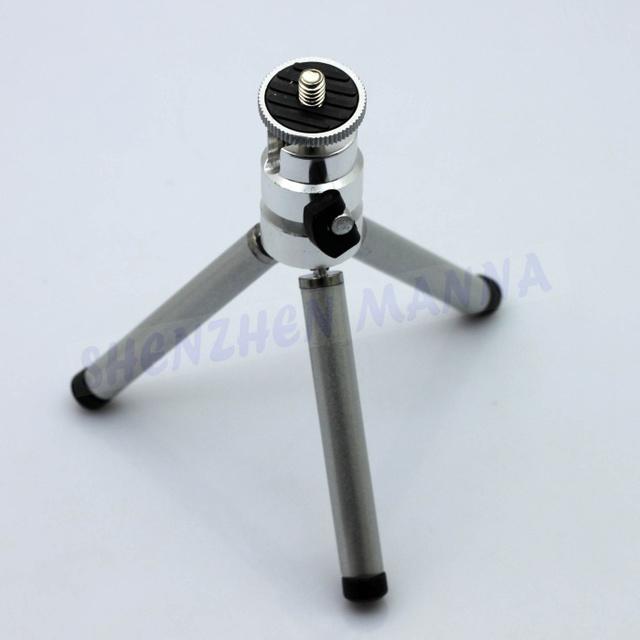 FREE SHIPPING 060B Photo Studio Travel Size Table Top Mini Tripod Stand For Canon Sony Nikon Camera adjustable Legs 1PC #EC063