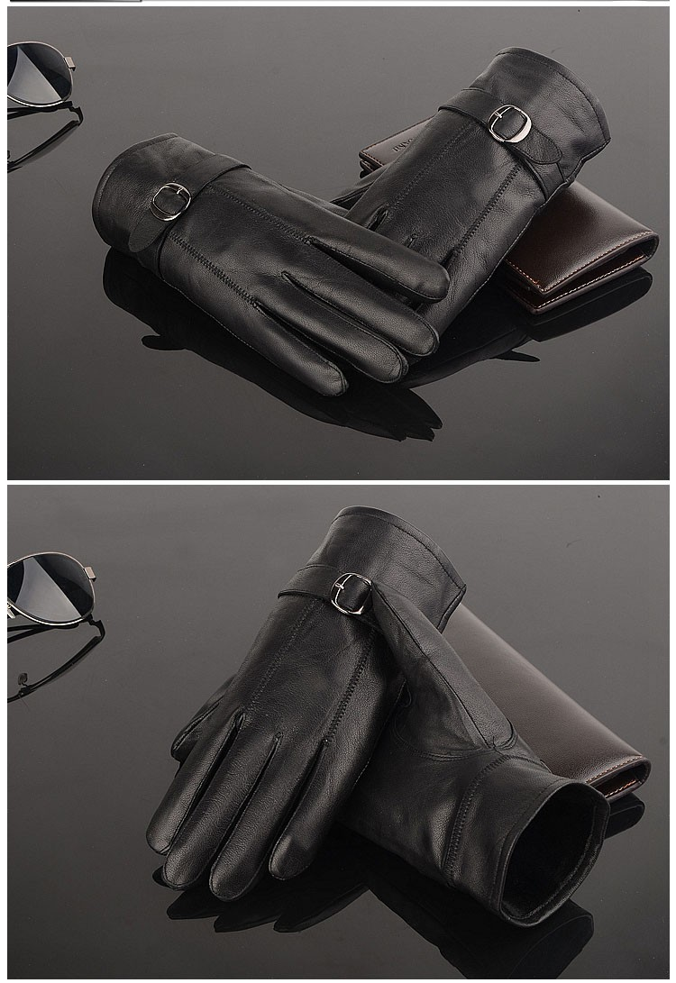 Man Leather Gloves (5)
