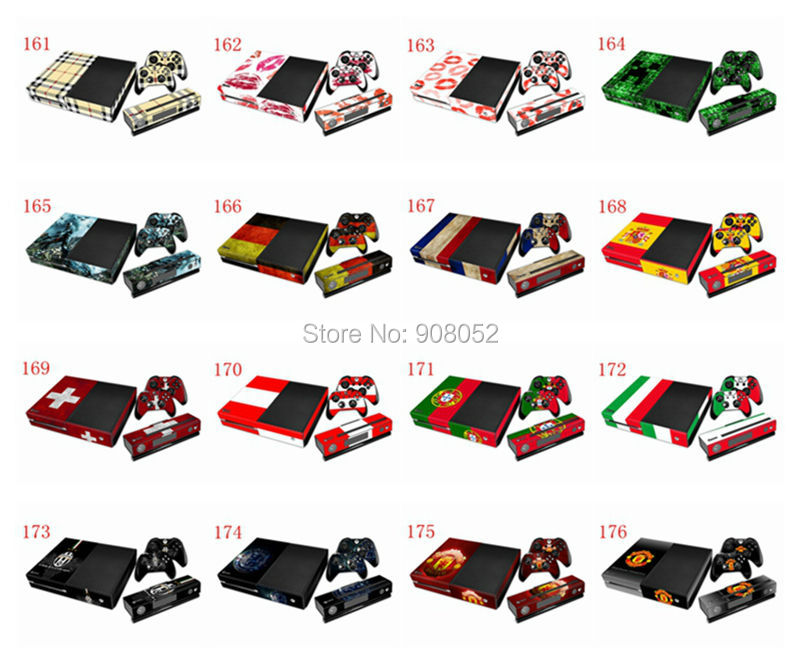 Awesome 15 Set Game Decal Skin Sticker Cover For Xbox ONE Console and Controller<br><br>Aliexpress