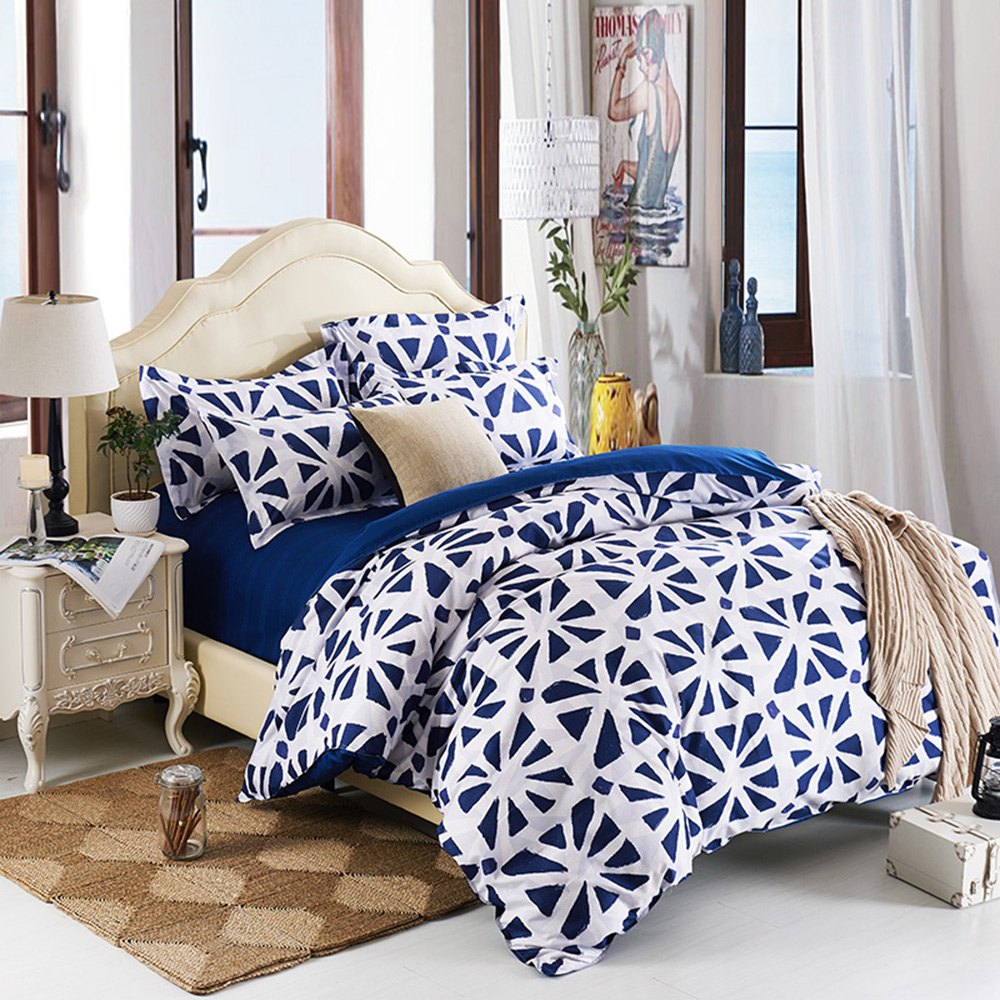 2016 New Arrival Dominica 4 Piece Bedding Set Bed Sheet Bed Cover Pillow Cover Soft and Bed Coverlet Set,Comfortable Fabric(China (Mainland))