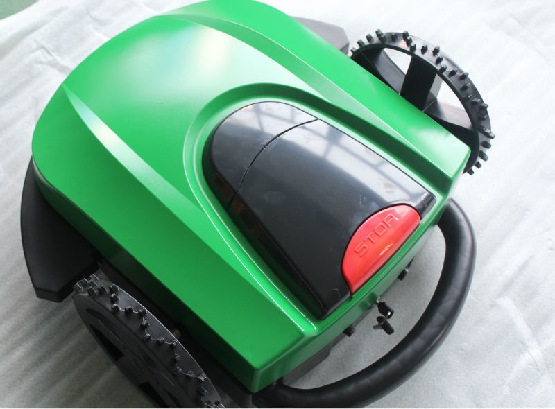 Auto electric robot Lawn Mover /remote lawn mowerWith LED display ,Sale by Factory(China (Mainland))