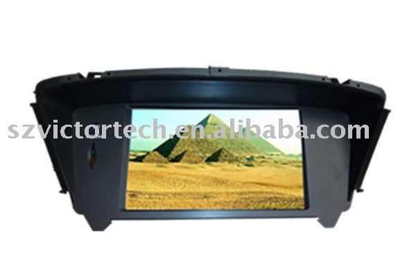 "8"" Digital touch screen car DVD player for Honda ODYSSEY with GPS DVB-T BT IPOD TV RADIO"