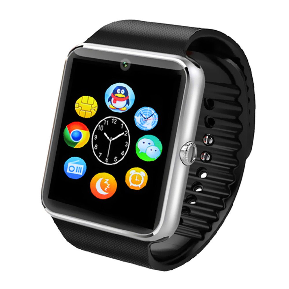 Smart Watch GT08 android-Phone WristWatch U Bluetooth Smartwatch for iPhone 6 5 5S 4S Samsung S5 S4 Note 4 HTC Smartphones