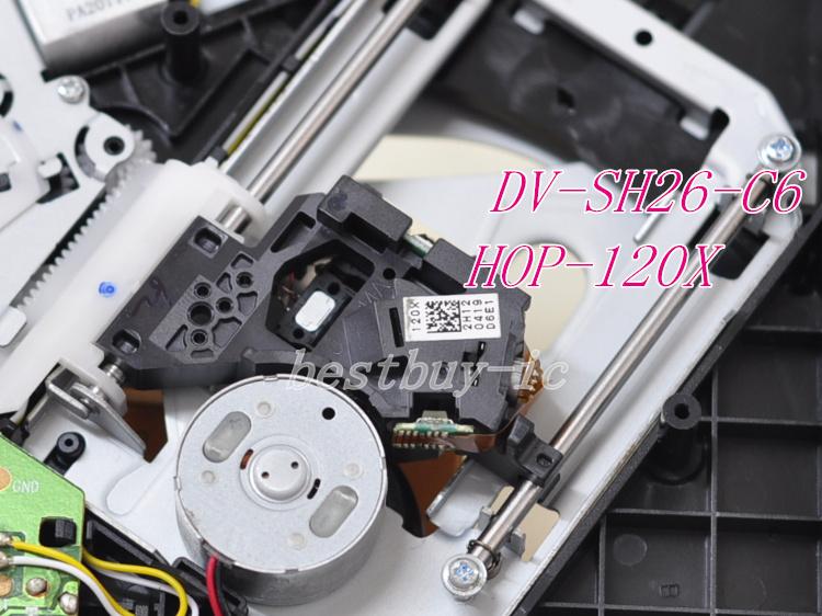 120X DVD optical pick up mechanism HOP-120X /12X HOP-120X laser head DV-SH26-C6(China (Mainland))