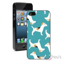Jack Russel Terrriers Protector back skins mobile cellphone cases for iphone 4/4s 5/5s 5c SE 6/6s plus ipod touch 4/5/6