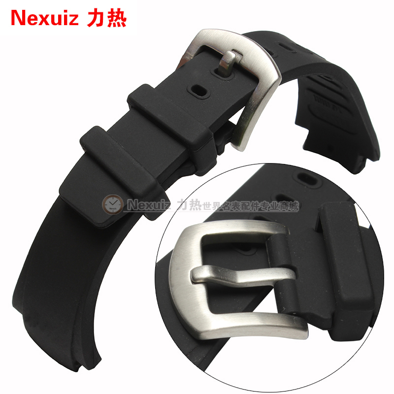 Watch accessories Convex mouth movement series alternative IW371918 watch waterproof soft silicone strap Prevent sweat band <br><br>Aliexpress