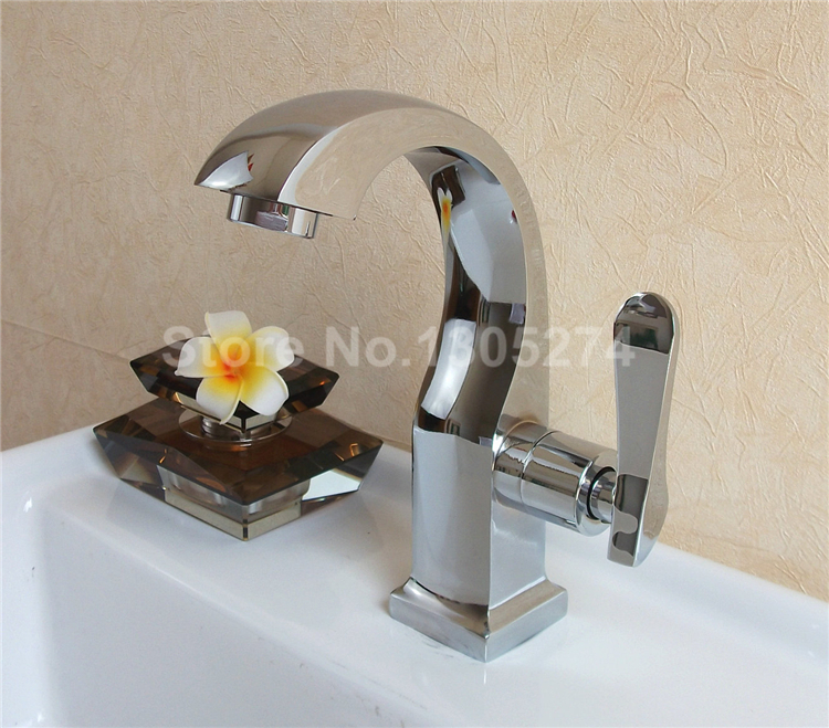 Hot Factory Direct Sale Rustic Bathroom Faucets Deck Mounted Vessel Sink Fauc