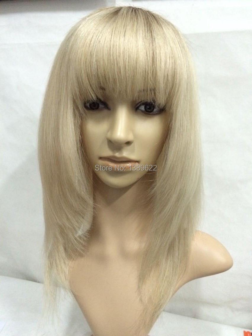 Blonde human Hair Wigs long Brazilian Lace Front Wig glueless full lace wigs Super Natural100%Human Remy wig aliexpress uk(China (Mainland))