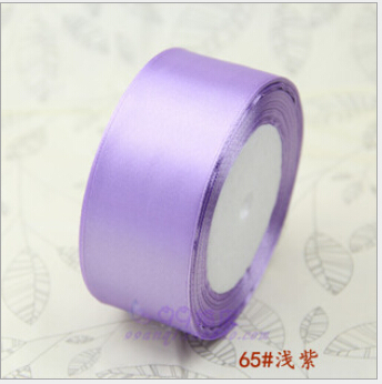 1-1/2 inch (40mm) single face Satin Ribbon 25yds Light purple webbing Wedding decoration Z001 - Fang Decorative Accessories Stores store