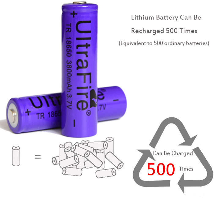 Whole Sales100pcs Consumer Electronics Power Source Rechargeable Batteries 18650 battery for powerbank flashlight