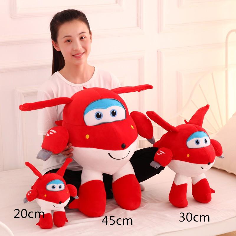 Super-Wings-Superwings-Jett-Cartoon-Toys-Plush-Small-Dolls-For-Children-20cm-30cm-45cm-