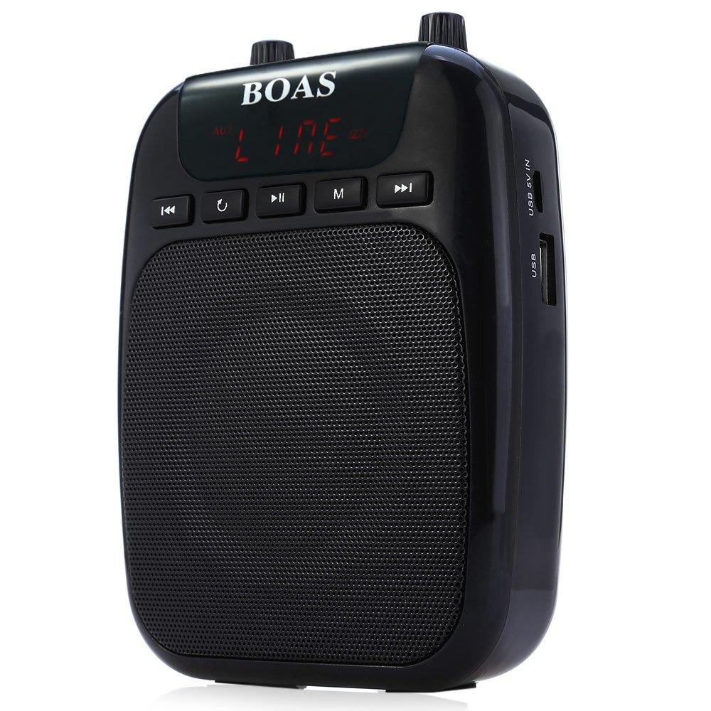 Original BOAS BQ-850 Voice Amplifier Speaker FM Radio Portable Mini PA System with Microphone Super Popular(China (Mainland))