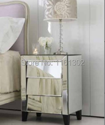 Online get cheap mirrored side table for Cheap bed stands