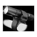 Outdoor Cross Bicycle Flashlight Mount Bracket Handlebar Lockblock Attachable LED Torch Mount Clip Quick Release Rail