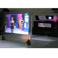 3D Holographic Projection Film Rear Adhesive Projection Screen A4 Size 4 Pieces 4 Colors