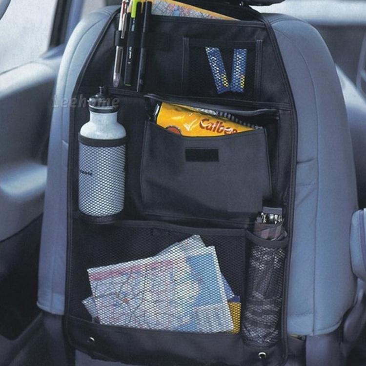 1pcs Car Auto Back Seat Organizer Bags Assorted Bag Pocket Black For Ford Focus 2 Focus 3 Kuga Ecosport Edge Mondeo Fiesta Flex(China (Mainland))