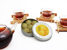 pu er tea Hot Sale Black Tea Chinese Organic food mini Compressed tea High Quality puer