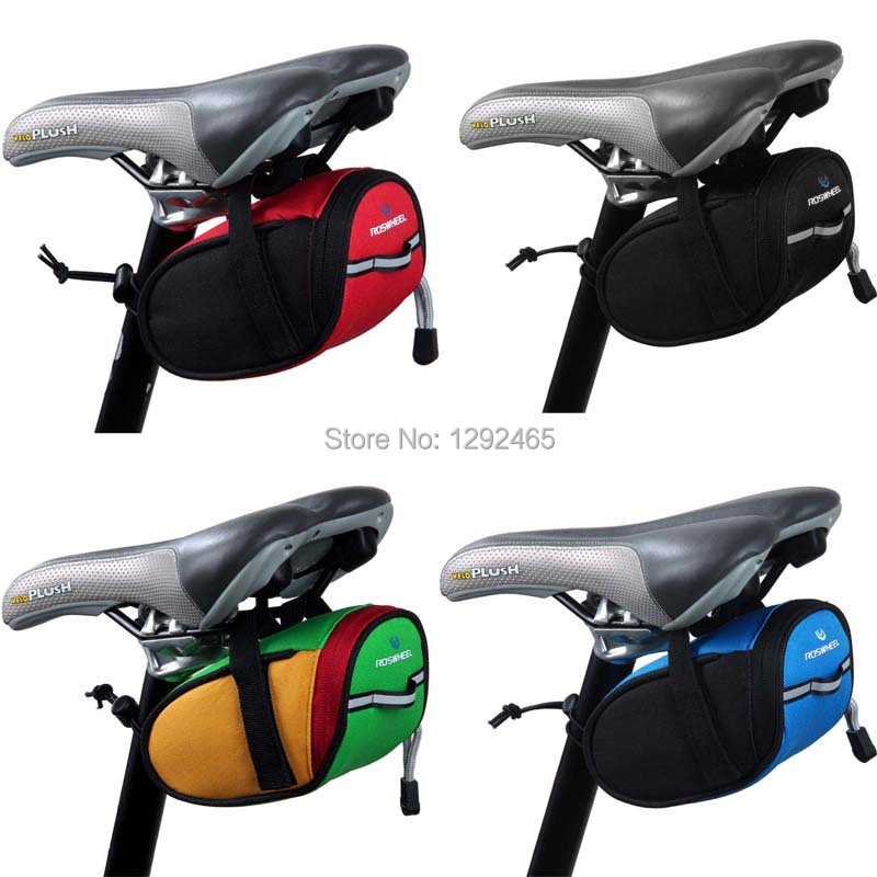 Roswheel Outdoor Cycling Mountain Bike Bicycle accessories Saddle Bag Back Seat Tail Pouch Package - Shenzhen Meicheng Trade Co., Ltd. store