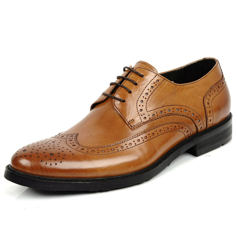 2013 new high-end business dress shoes leather shoes for men of England helped Dan Xienan carved low permeability<br><br>Aliexpress