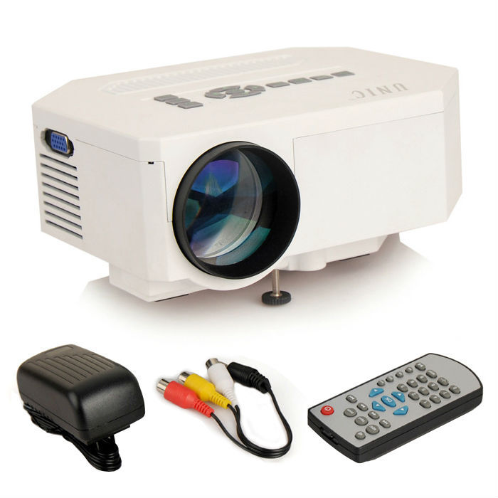Best Father's day gift UNIC UC30 Mini Pico portable proyector Projector AV USB & SD VGA HDMI Projector projetor beamer Wholesale(China (Mainland))