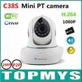 Vstarcam Mini PT Box IP Camera C38S 1080P HD WIFI CCTV camera IR 10M day nigh