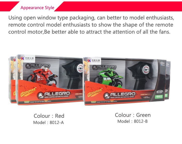 Fun mini on road bike Electric rc motorcycle radio controlled motorcycle with sophisticated gyro system juguetes for kids 8112