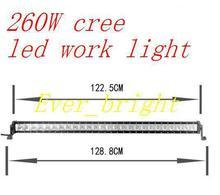 4pcs 49INCH 260W CREE LED work LIGHT BAR LED DRIVING LIGHT spot IP68 FOR OFFROAD MARINE BOAT CAMPING 4x4 ATV UTV USE(China (Mainland))
