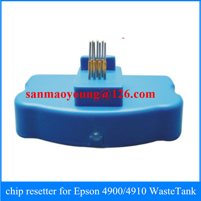 Maintenance tank chip resetter Epson 4900 4910 - Printer Accessories Camp store