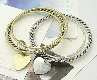 SL62 agitation restoring ancient ways three love bracelets free shipping Promotion wholesale retail jewelry  necklaces rings