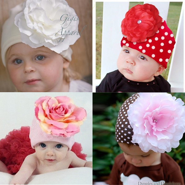 Baby Winter Hat Newborn Photography Props Flower Hat Cap Beanie Accessories On Sale(China (Mainland))