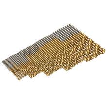 Caliente venta 50 unids/set fresa espiral Bit para Metal Set 1/1. 5 / 2 / 2.5 / 3 m HSS acero alta velocidad carpintería taladrado herramienta alta calidad