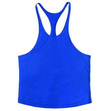 Tengkorak Binaraga Stringer Tank Top Pria Gym Stringer Shirt Fitness Tank Top Gym Pakaian Rompi Katun Hoodies(China)