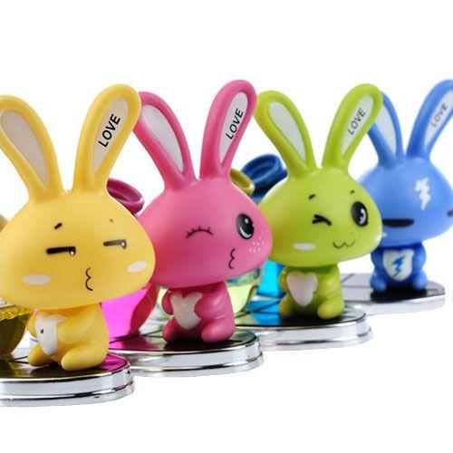 Wholesale Expressive Rabbit Car Perfum Diffuser Bottle Auto Air Freshner Seat Bottle(China (Mainland))