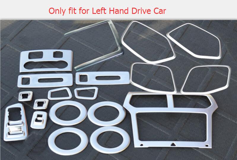 Хромовые накладки для авто High Flying ABS Aceesoories 19pcs Ford Explorer 2011/2015 авто бу ford trnzit