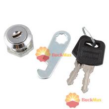 buckmax Top grade Cam Lock Cabinet Mailbox Drawer Cupboard Locker 20mm + Keys Only you(China (Mainland))