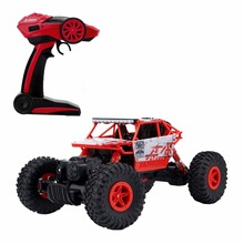 RC Car 4WD 2.4GHz Rock Crawlers Rally climbing 1:18 Car 4x4 Double Motors Bigfoot Car Remote Control Model Off-Road Vehicle Toy(China (Mainland))