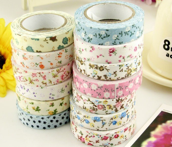 Wholesale lovely self adhesive decoration fabric tape for Decoration porte adhesive