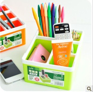 The fashion simple pure color 4 case desktop receive box remote receive a case(China (Mainland))