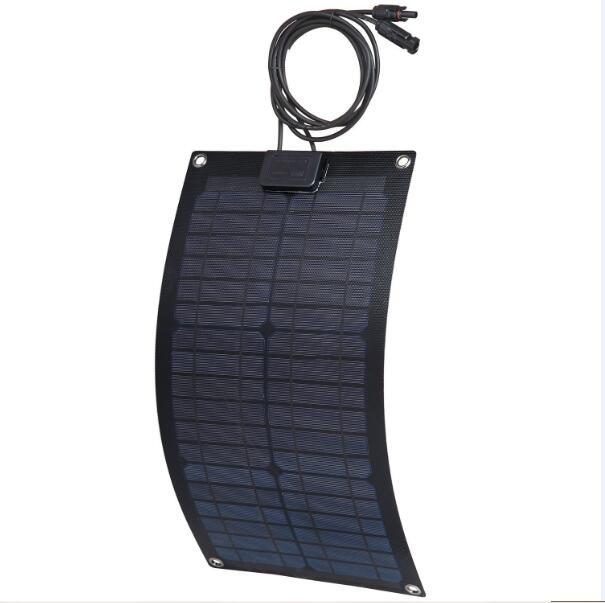 MXSOLAR 18V 20W ETFE semi-flexible monocrystalline silicon solar cell photovoltaic panels(China (Mainland))