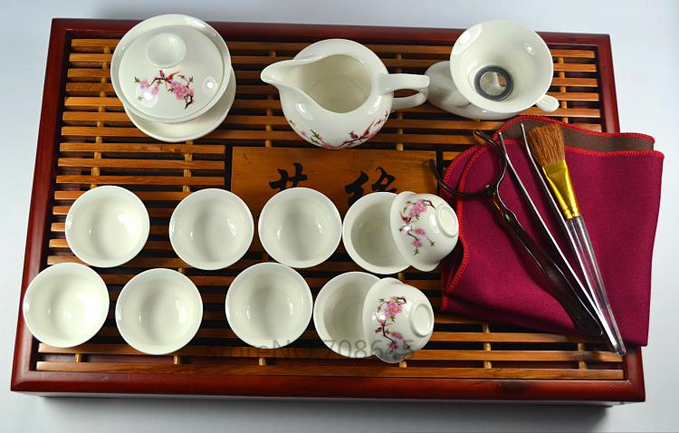 Посуда Lucky tea villa , эхолот lucky ffw718li