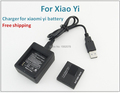 For Xiaomi yi accessories battery for xiaomi yi sports action camera 1010mAh 3.7V battery high quality replacement batteries